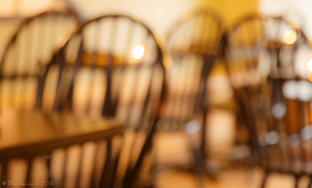 Chairs and tables waiting – Ellie Kennard 2015