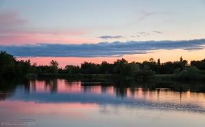 Lake at sunset- Ellie Kennard 2015