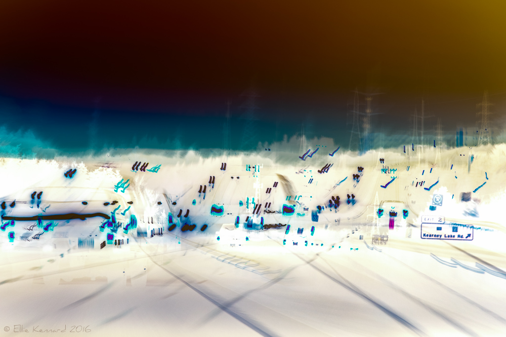 Take the Next Exit (if you can find it): multiple exposure - Ellie Kennard 2016