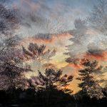 Sunset from every angle: Multiple exposure town sunset, Uxbridge - Ellie Kennard 2016