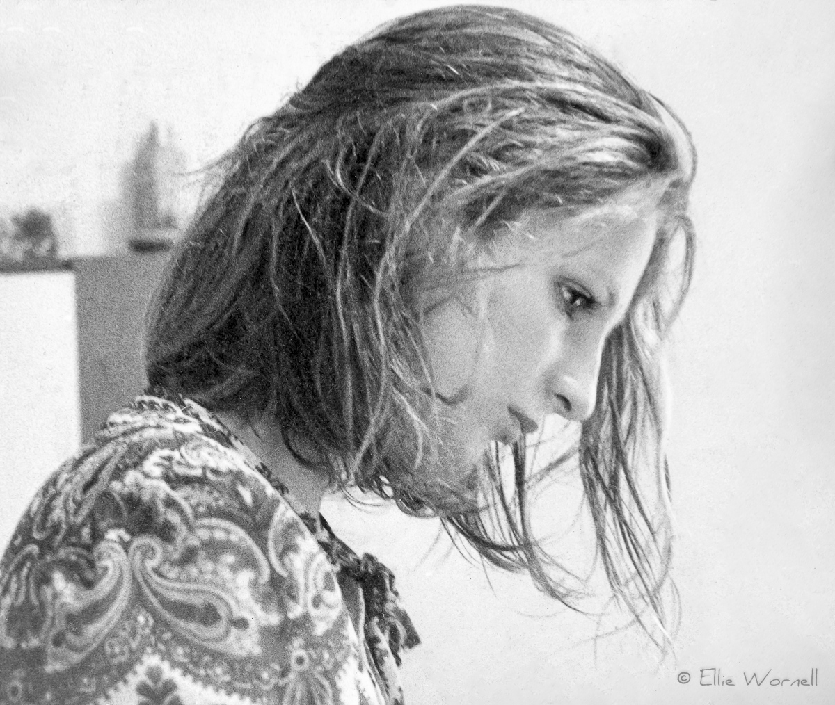 Ellie Wornell (Kennard) - 1968. Photo taken by Peter Erskine