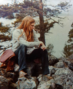 Ellie Kennard in Finnish wilderness