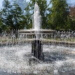 Park Fountain Halifax, multiple exposure – Ellie Kennard 2015