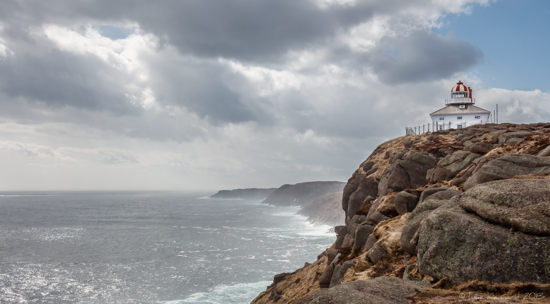 Old Cape Spear Lighthouse, Newfoundland - Ellie Kennard 2013