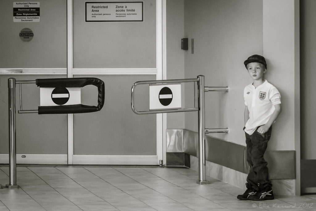 Waiting for Arrivals - Ellie Kennard 2012